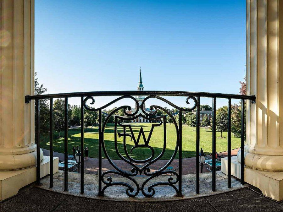 Letter from the Editor: Welcome to Wake Forest