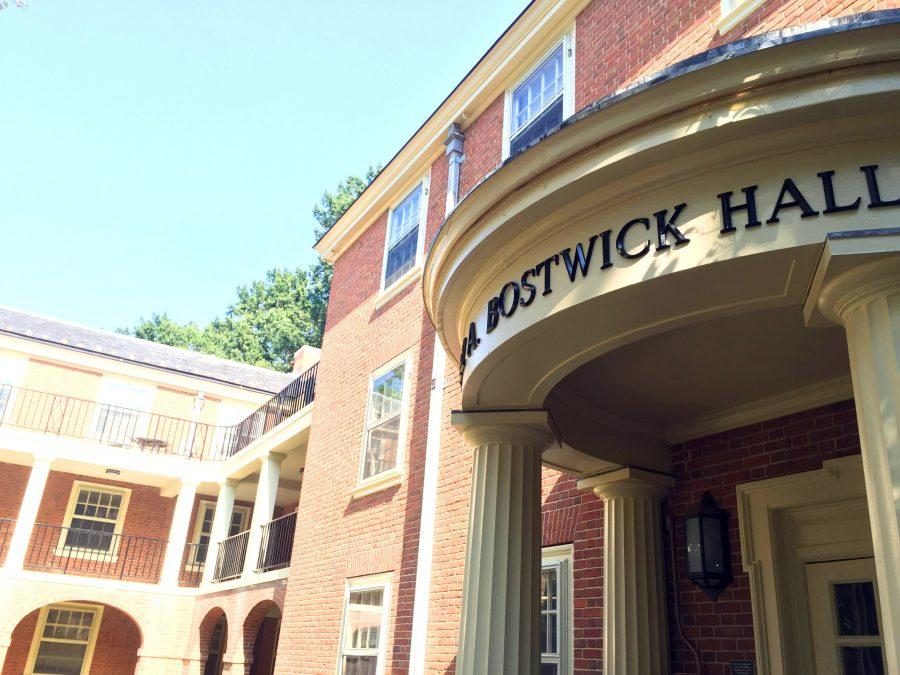 Age before beauty: the Bostwick Hall experience