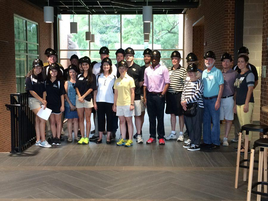 Wake Forest hosts first Hard Hat Tour