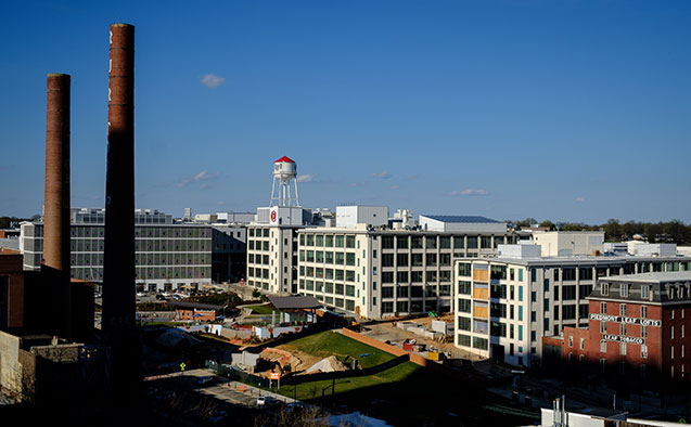 Wake Forest is expanding  downtown