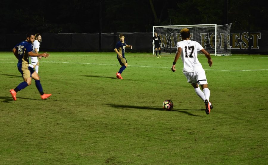 Men's soccer notches sixth straight shutout
