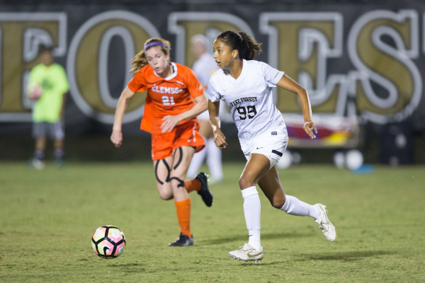 Women's soccer falls in first ACC contest