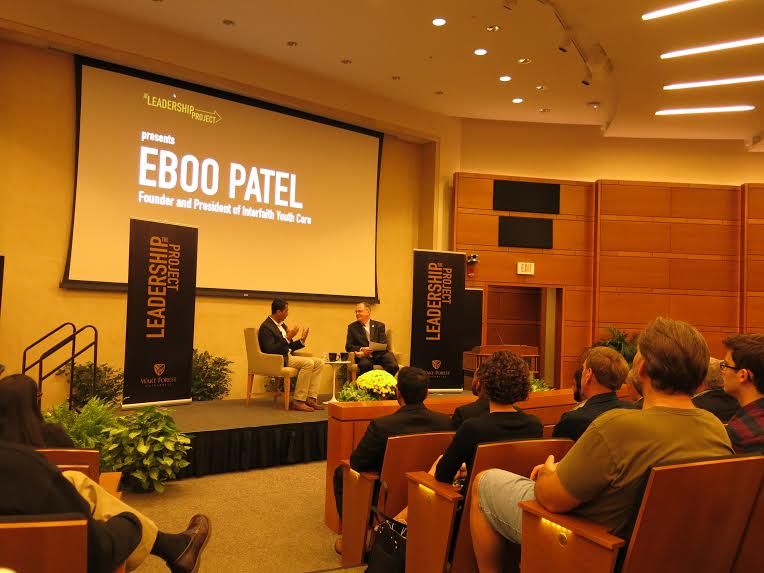 Eboo Patel returns to speak on diversity