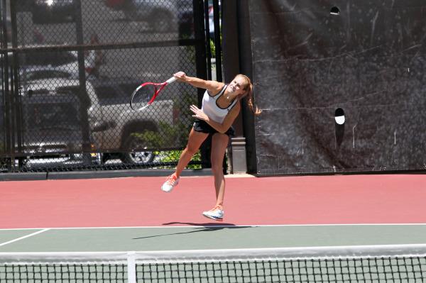 Tennis star reflects on accomplishments