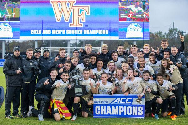 Deacons crowned ACC champs