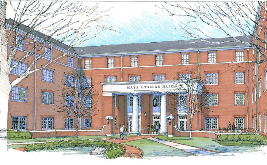 New freshman dorm will be named Maya Angelou Hall