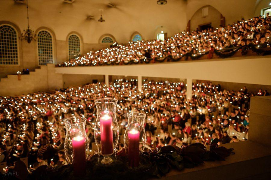 Photo courtesy of lovefeast.wfu.edu