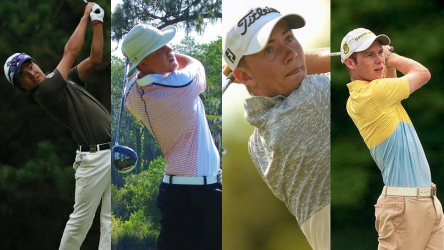 Men's golf inks four superstars for next season