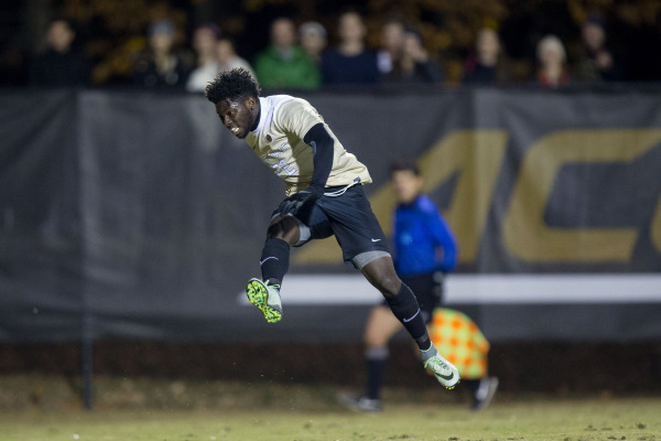 Two from Twumasi send Deacs to final four