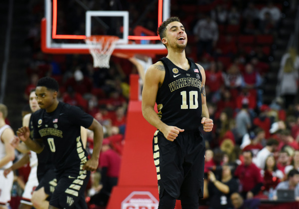 Deacons earn first victory in Raleigh since the CP3 era