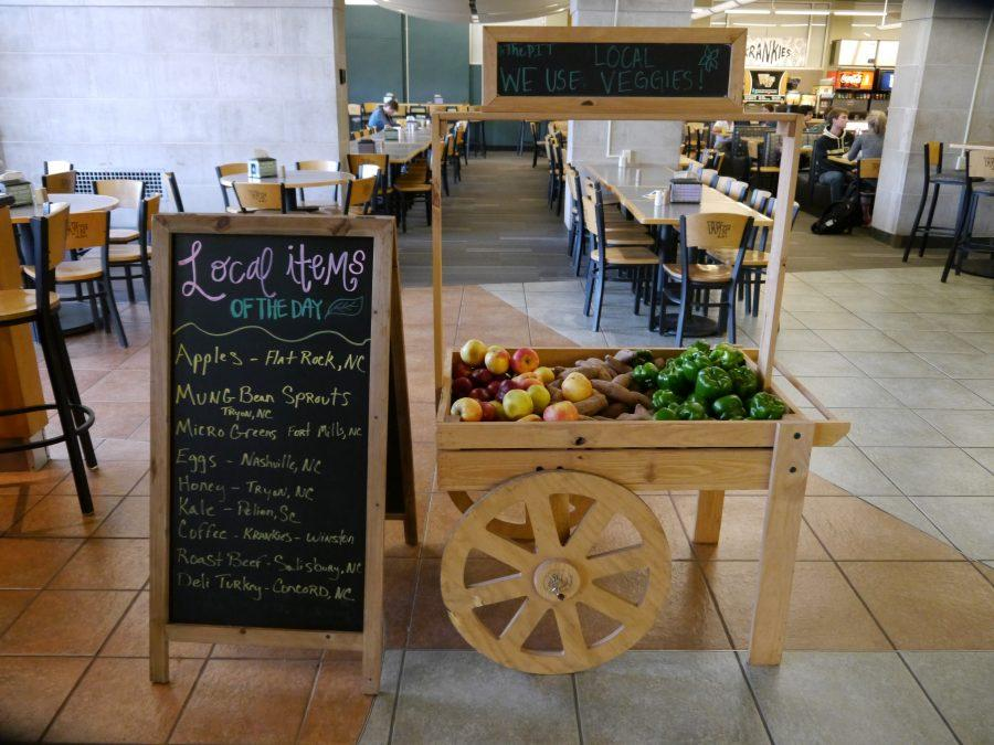 Campus contends healthy eating options