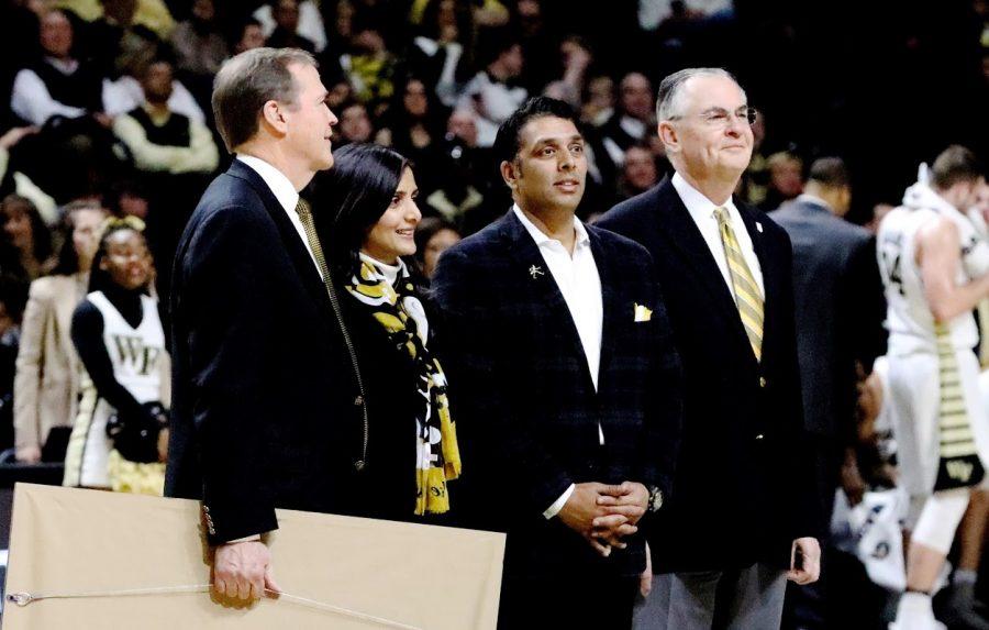Alumnus Mit Shah donates to Wake Forest basketball