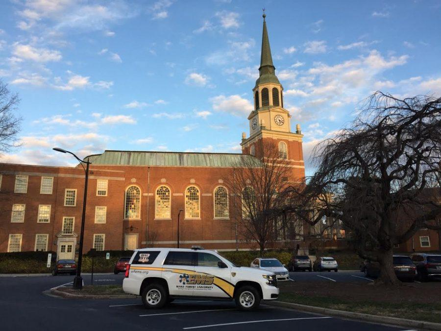 Campus Emergency Medical Services granted new vehicle