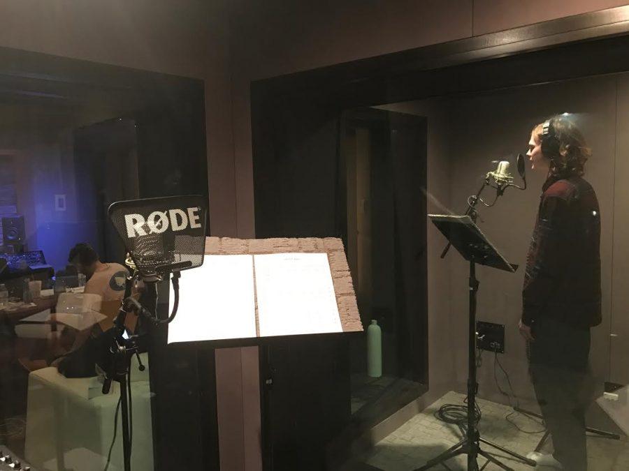 Chi Rho a cappella group records a new album