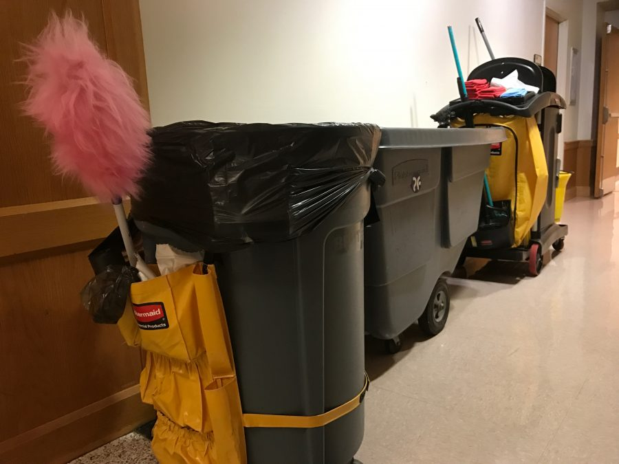 University to outsource more janitors to Budd Group