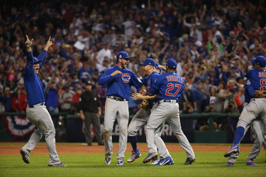 The Cubs reloaded following World Series