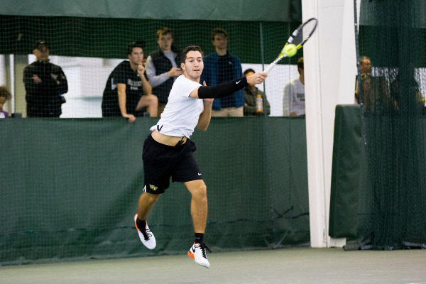 Men's tennis earns No. 3 national ranking