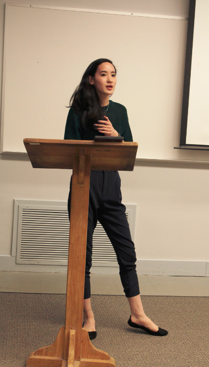 Students discuss Muslim identities, women's rights
