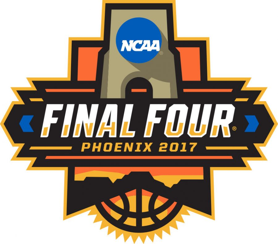 NCAA+men%27s+basketball+Final+Four+logo.+NCAA2017