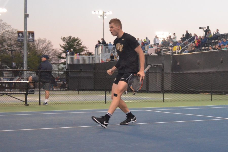 Men's Tennis: Deacs poised for ACC Championship