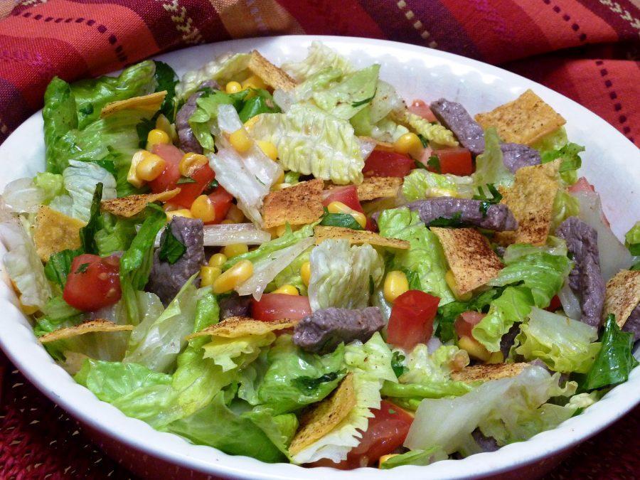 Mexican Tortilla Salad. (Linda Gassenheimer/TNS)