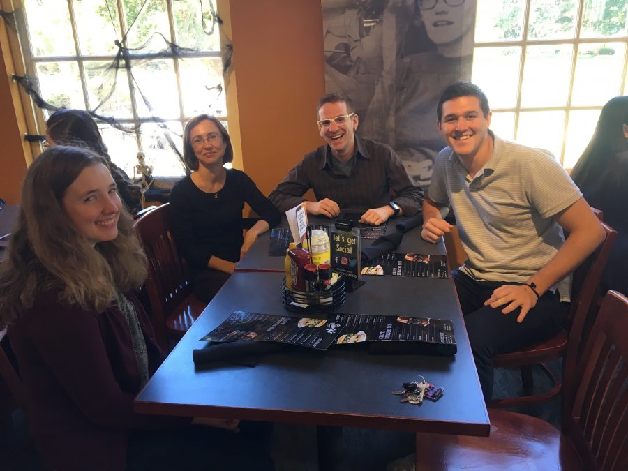 Classical Languages Dept Hosts Student Luncheon