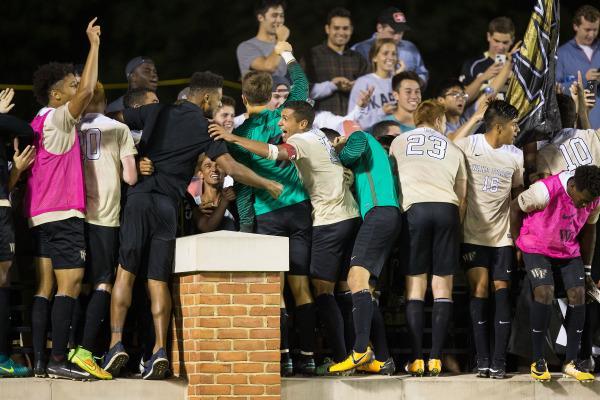 Photo courtesy of Wake Forest Athletic Communications