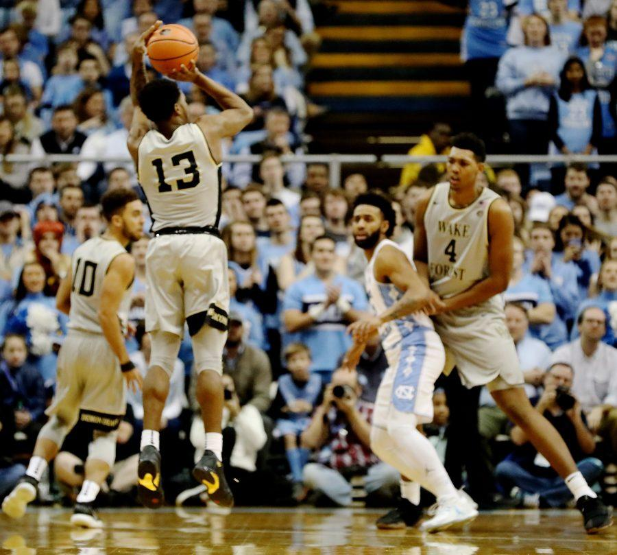 Photo Gallery: Wake Forest at No. 13 North Carolina