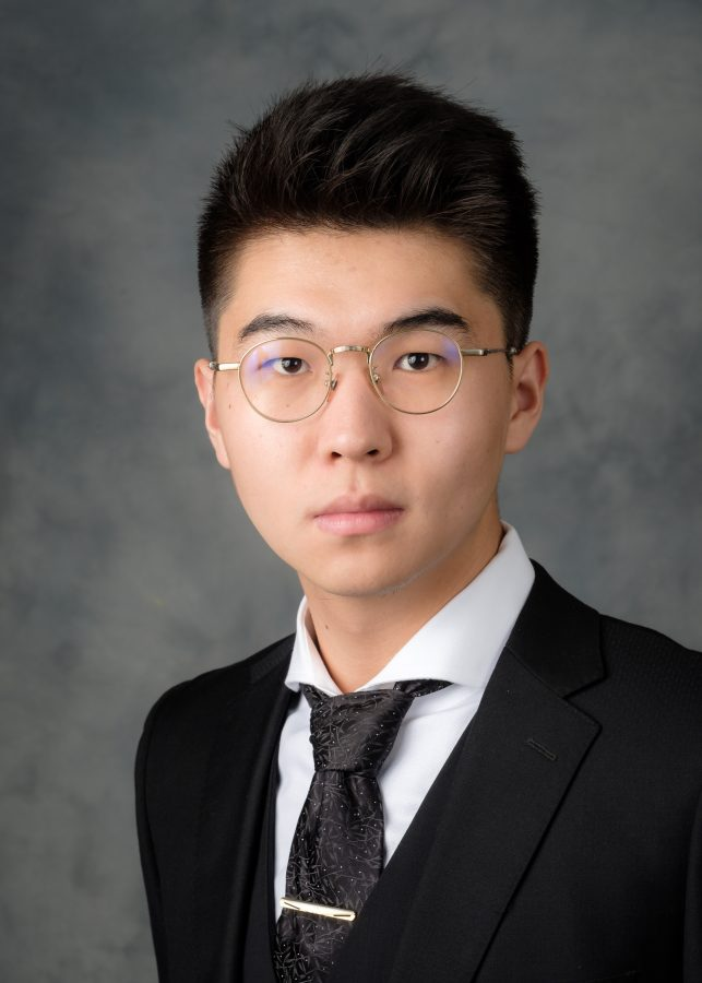 WFU President's Aides headshots, Tuesday, May 8, 2018. Zachary Zhang.