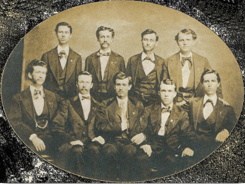 June 1839: First class of graduates received their diplomas from Wake Forest College.