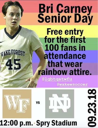 LGBTQ Center Sponsors Women's Senior Soccer Game