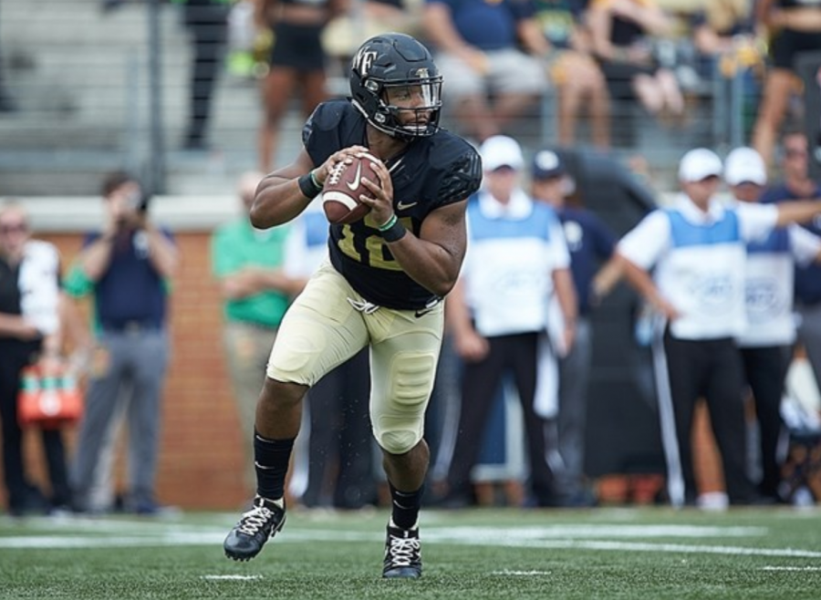 No. 8 Notre Dame Trumps Wake Forest At Home