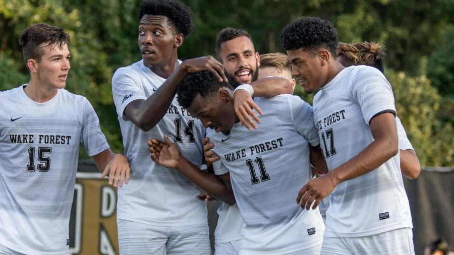WFU Soccer Defeats Georgia Southern Eagles
