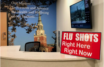 Campus Prepares For The 2018 Flu Season