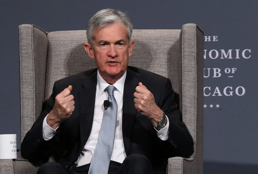 Federal+Reserve+Chairman+Jerome+Powell+speaks+at+the+Economic+Club+of+Chicago+luncheon+at+the+Hilton+Chicago+on+April+6%2C+2018.+%28Antonio+Perez%2FChicago+Tribune%2FTNS%29