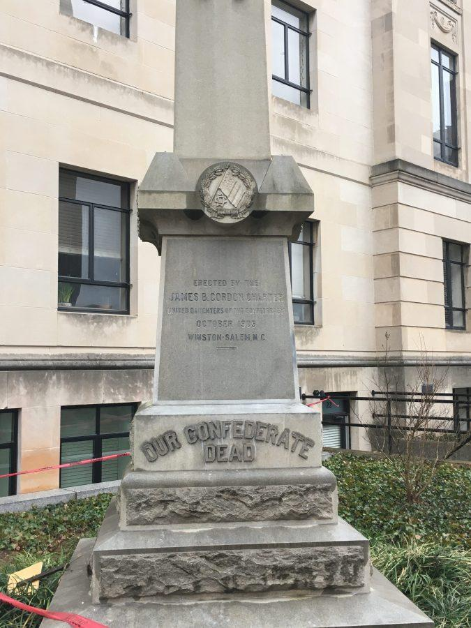 Downtown Confederate Statue Removed