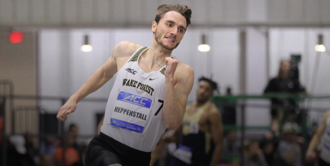 Heppenstall Highlights ACC Indoor Championships