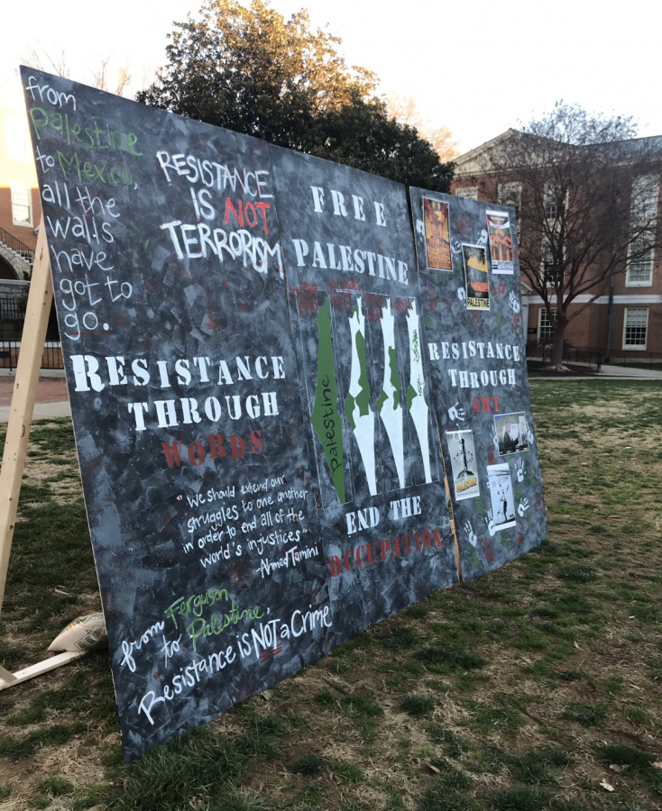 Campus Hosts Palestine Solidarity Week