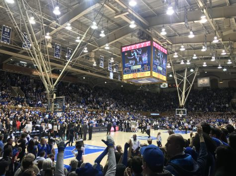 Basketball Almost Grabs The Win At Cameron Indoor