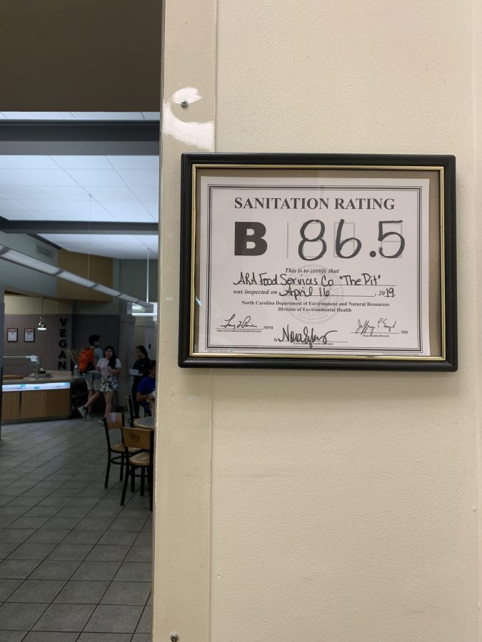 Pit Receives Lower Sanitary Inspection Rating