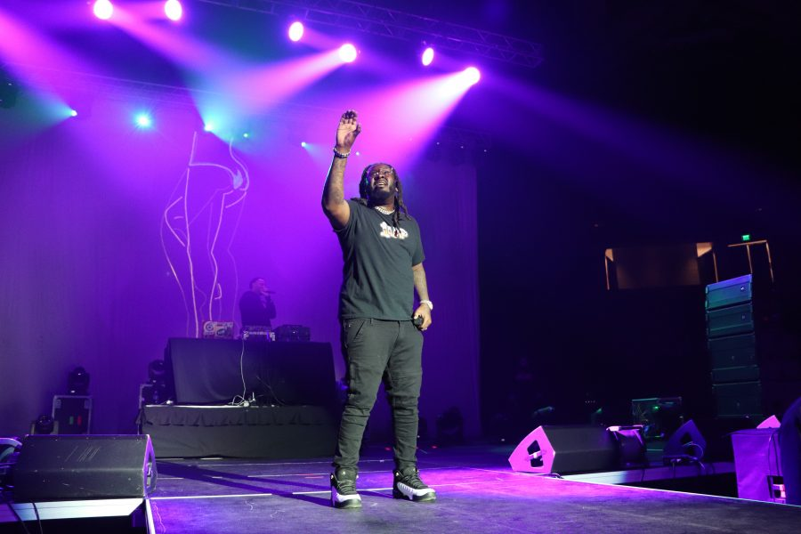 T-Pain Performs In Winston-Salem