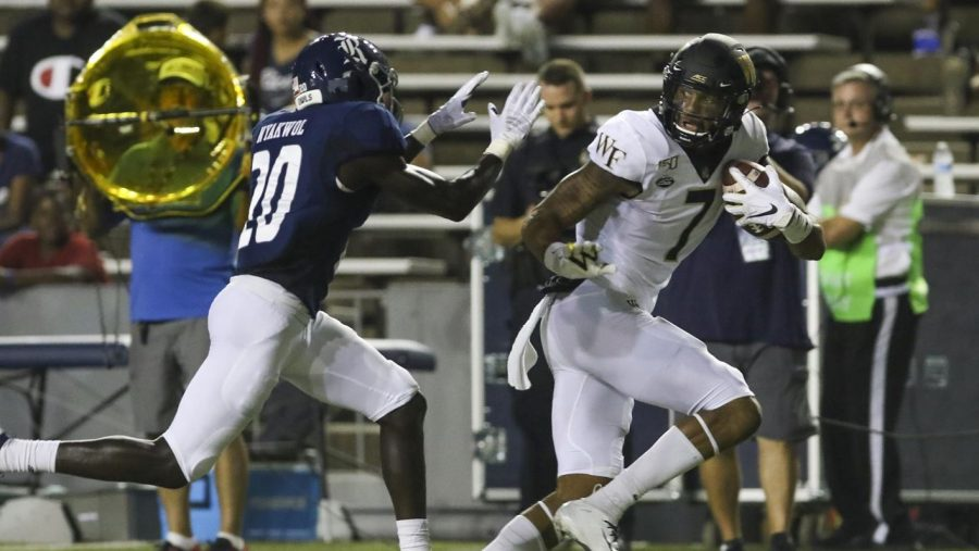 Wake Forest Outplays Rice During 41-21 Road Win
