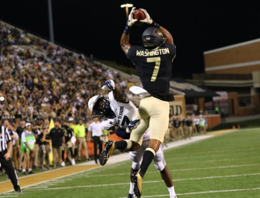 Wake Forest Wins 38-35 Thriller Against Utah State