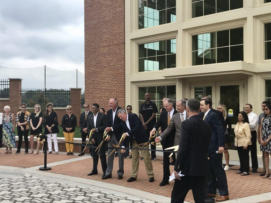 Wake+Forest+Unveils+New+Athletic+Facilities