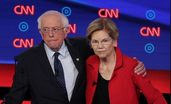 Warren+And+Sanders+Share+What+Matters%3A+Policy