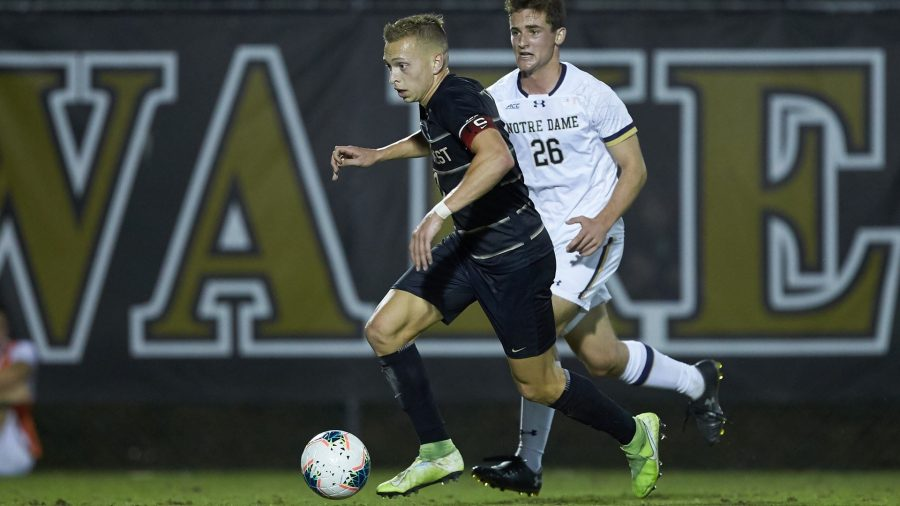 Wake Forest Falls To Notre Dame At Home 1-0