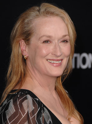 Actress Meryl Streep arrives to the premiere of
