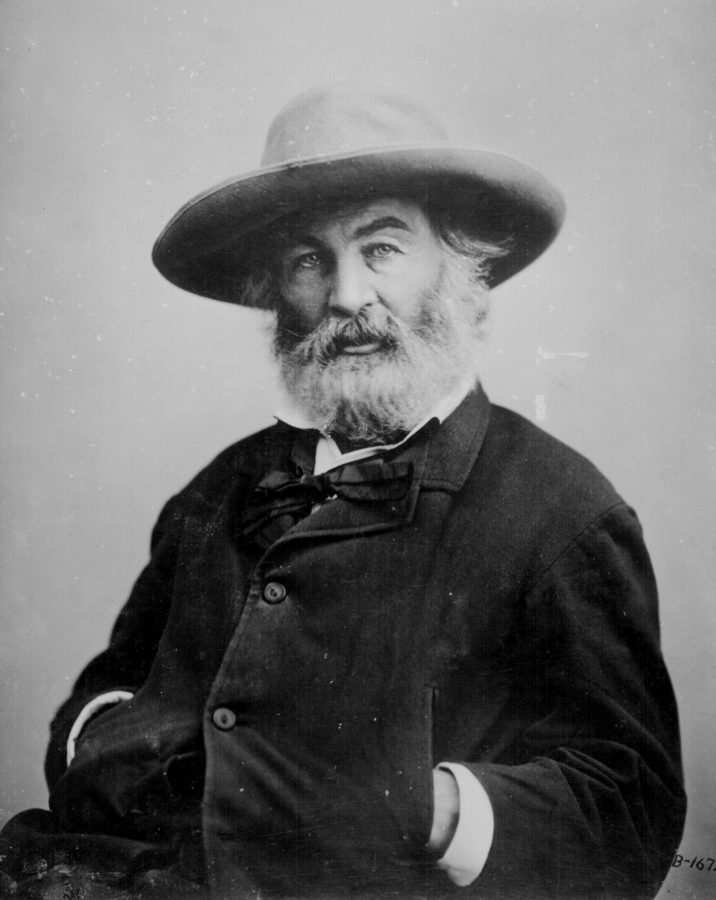 Portrait of poet Walt Whitman. (National Archives/MCT)