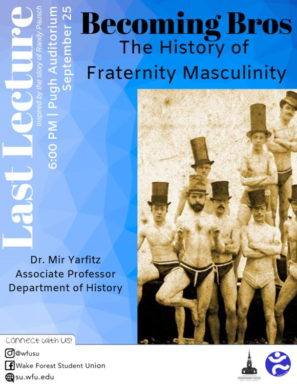 Last Lecture Details The Roots Of Fraternities
