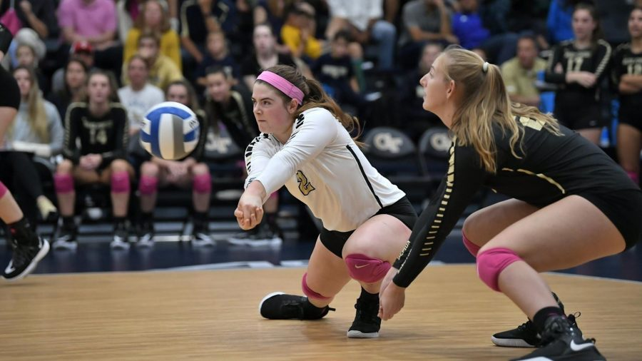 Women's Volleyball Loses Weekend Series